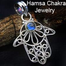Hamsa Chakra Jewelry