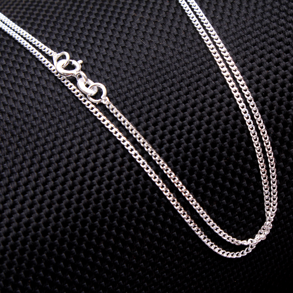 925 Sterling Silver Jewelry Silver Chain Necklace Chain Solid Silver Link Chain 20